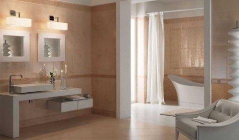 bagno con sanitari moderni