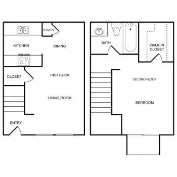 Houston Texas Rockridge Park 1 bed 1 bath Big Floor Plan 827 square feet