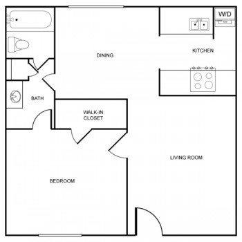 Houston Texas Rockridge Park 1 bed 1 bath Large Floor Plan 1072 square feet