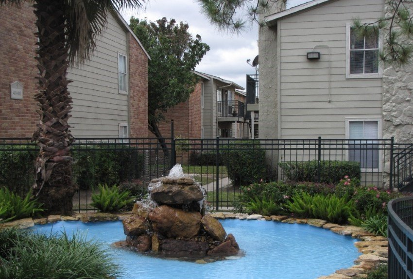 Houston Texas Salado at Cityview Apartment Pool