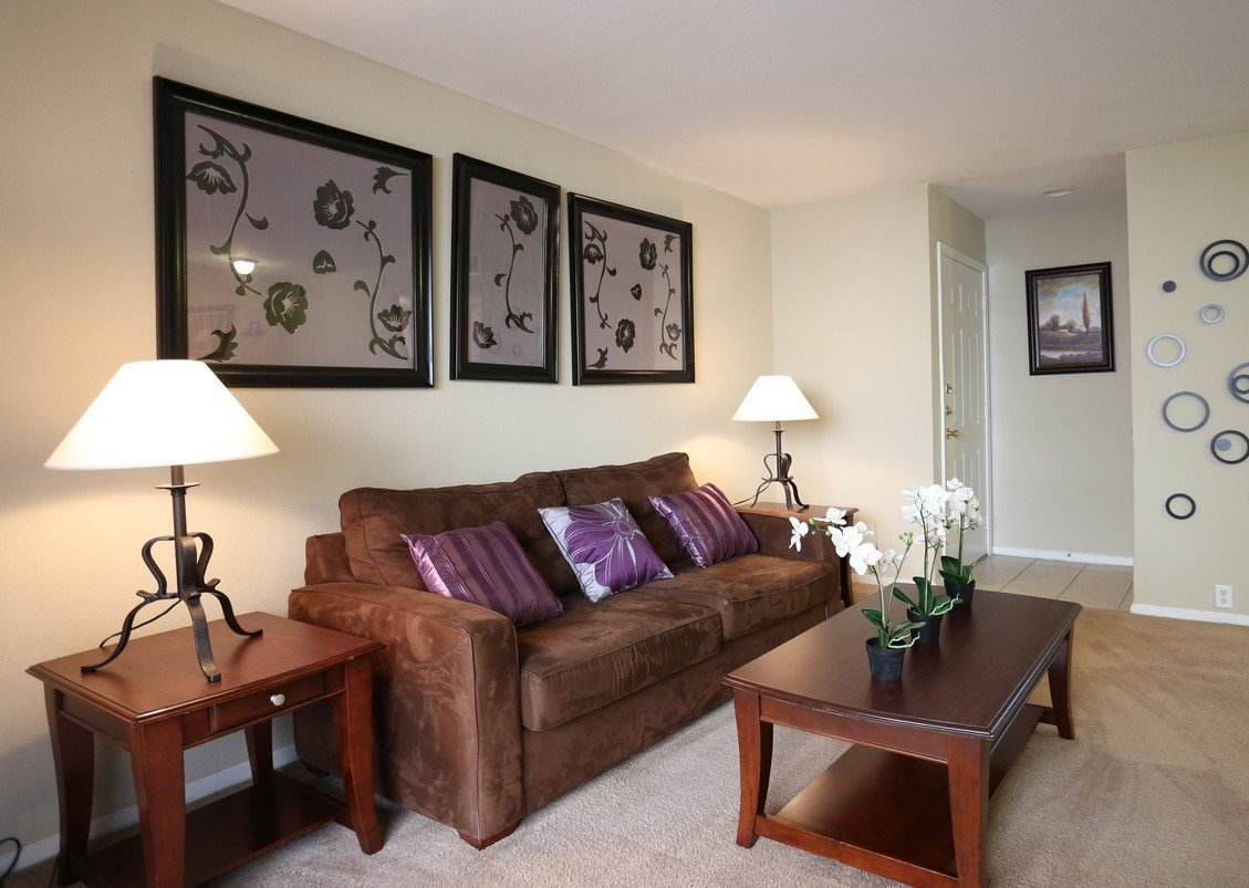 Rockridge Park Apartments Houston Living Room