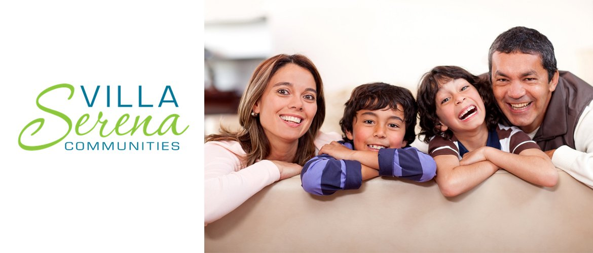 Villa Serena Communities Happy Family Logo