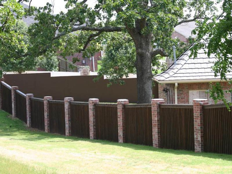 Privacy Fence Custom Solutions Fence Staining