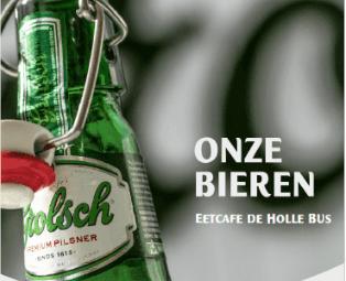 Vernieuwde Bierkaart Holle Bus