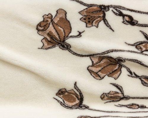 Jacquard flounce decorated fabric