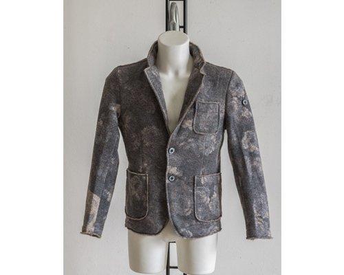 Boiled wool jacket example