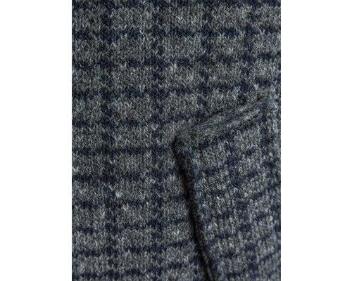Boiled wool detail