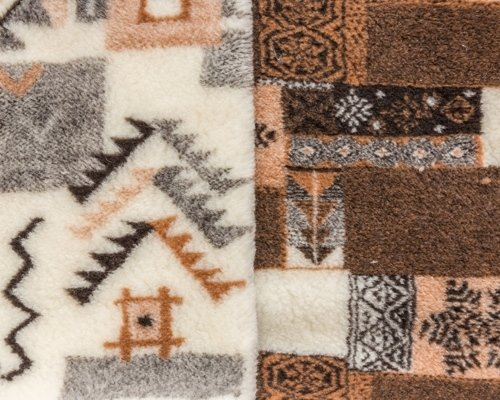 Jacquard gauzed fabric