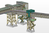 3D modelling graphical diagram