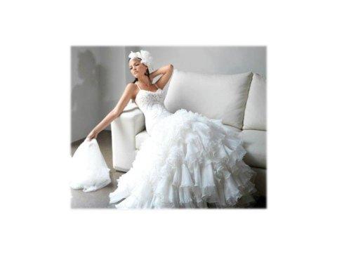 vestito sposa con velo