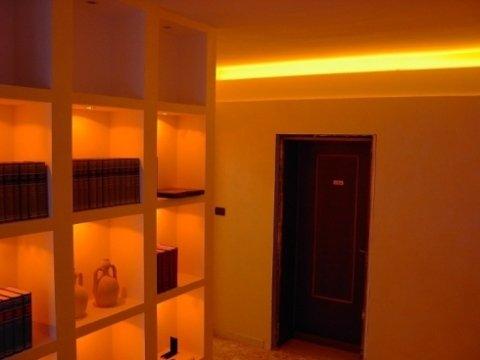Impianto d'illuminazione a led, impianto d'illuminazione a led settore terziario , illuminazione a led , illuminazione a risparmio energetico