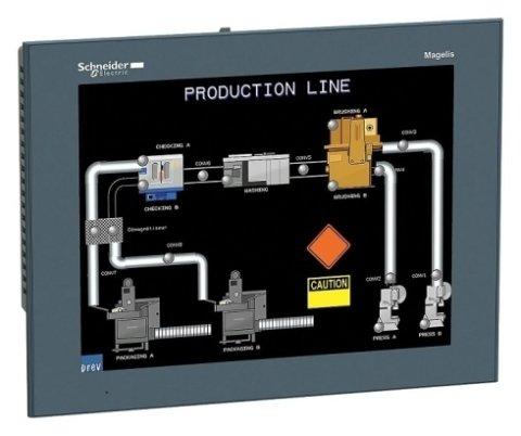 sistema domotico , impianto domotico , touch screen schneider