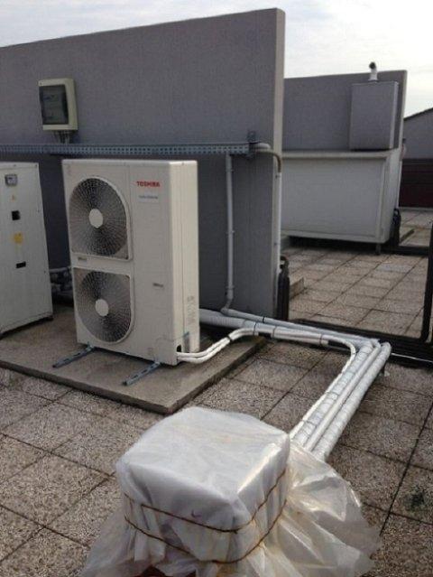 impianto condizionamento per uffici , impianto condizionamento settore terziario , impianto di condizionamento