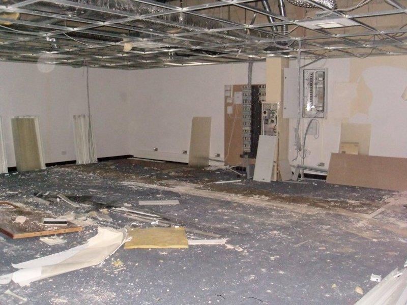 before flooring installation