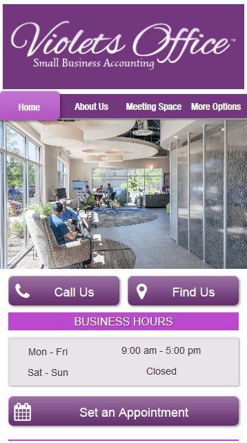 PUSH Clients Violet's Office