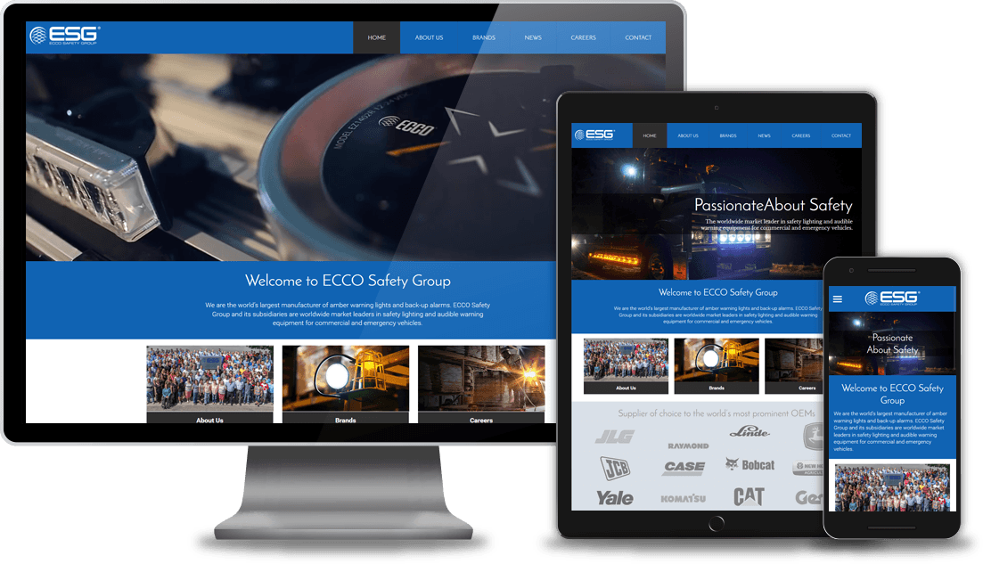 Desktop Tablet and Mobile Website