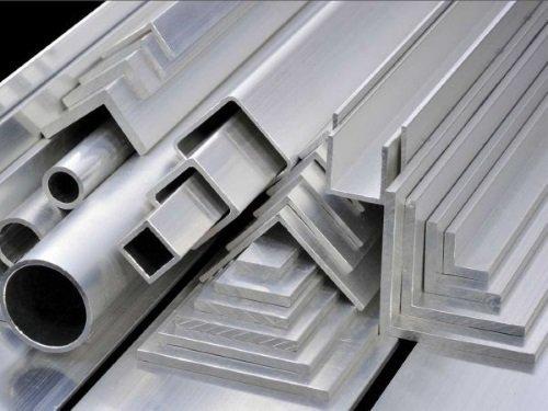 Canti, profilati e tubi di alluminio
