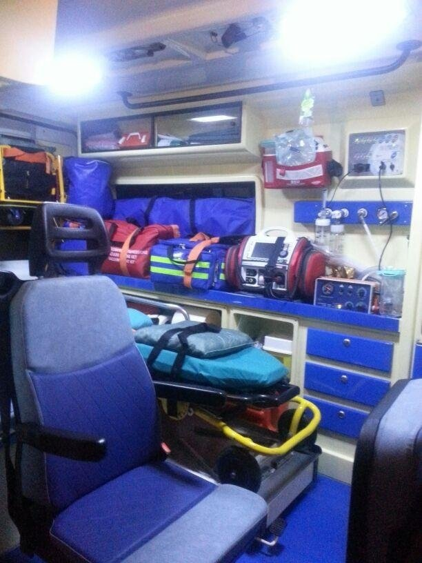 Interno ambulanza