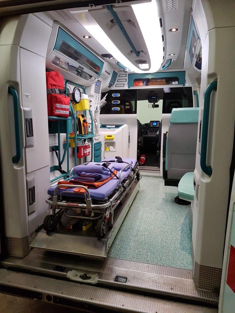trasporto in ambulanza