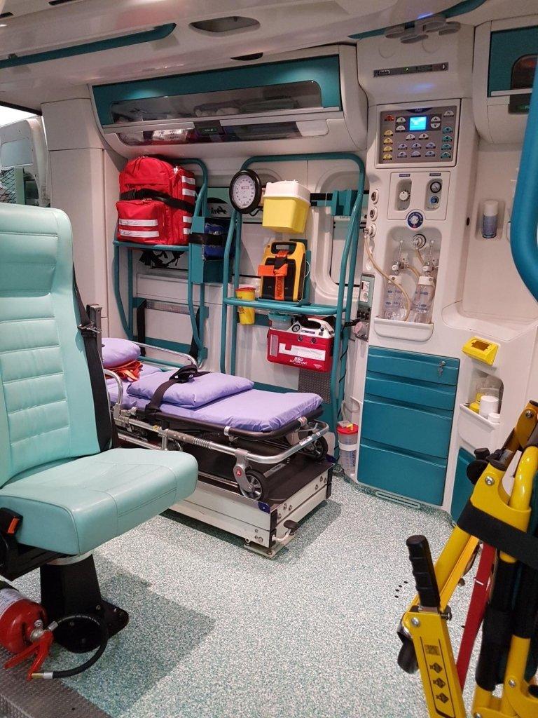 trasporto in ospedale