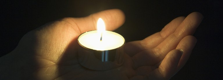 emotional health counselling services candle in the palm