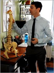 Dr Louis Granirer - Holistic Chiropractor NYC