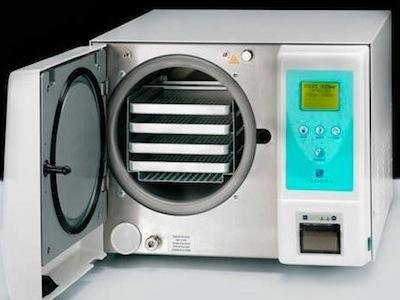 autoclave odontoiatrico vapore banco ciclo vuoto