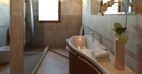 top bagno marmo bianco