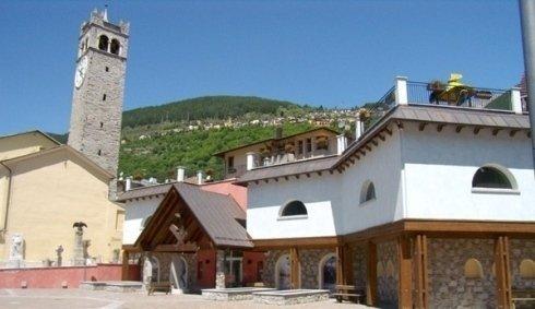 Temù (Bs) Costruzione sede Museo Guerra Bianca in Adamello