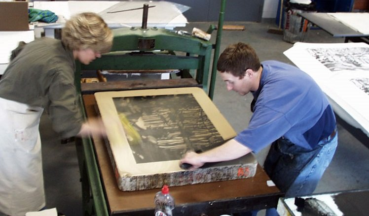 Relief Printing Method