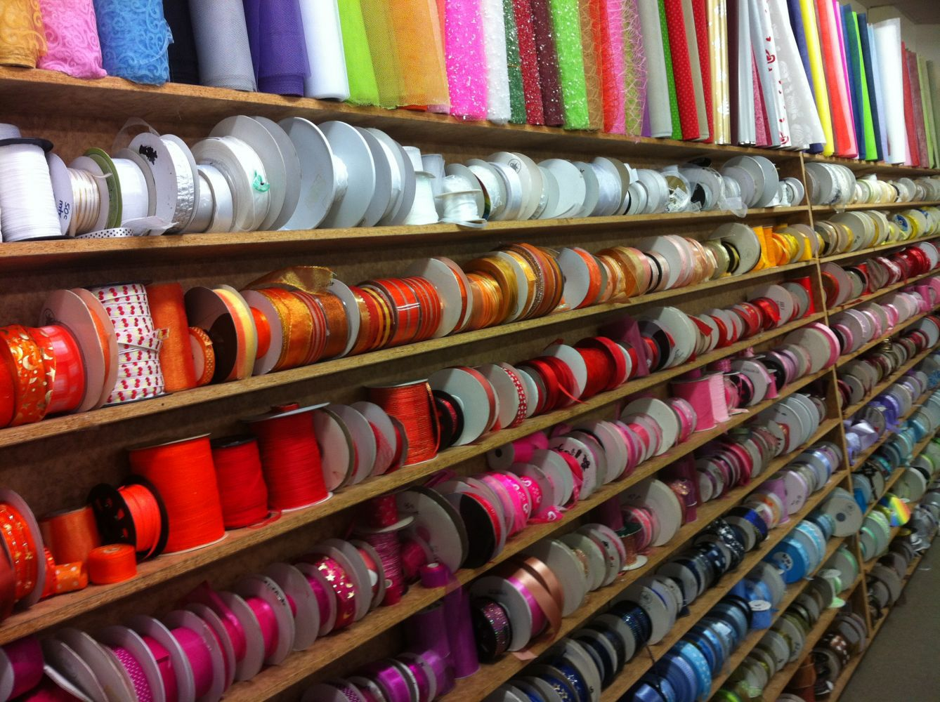 fabric and art supplies in Wellington