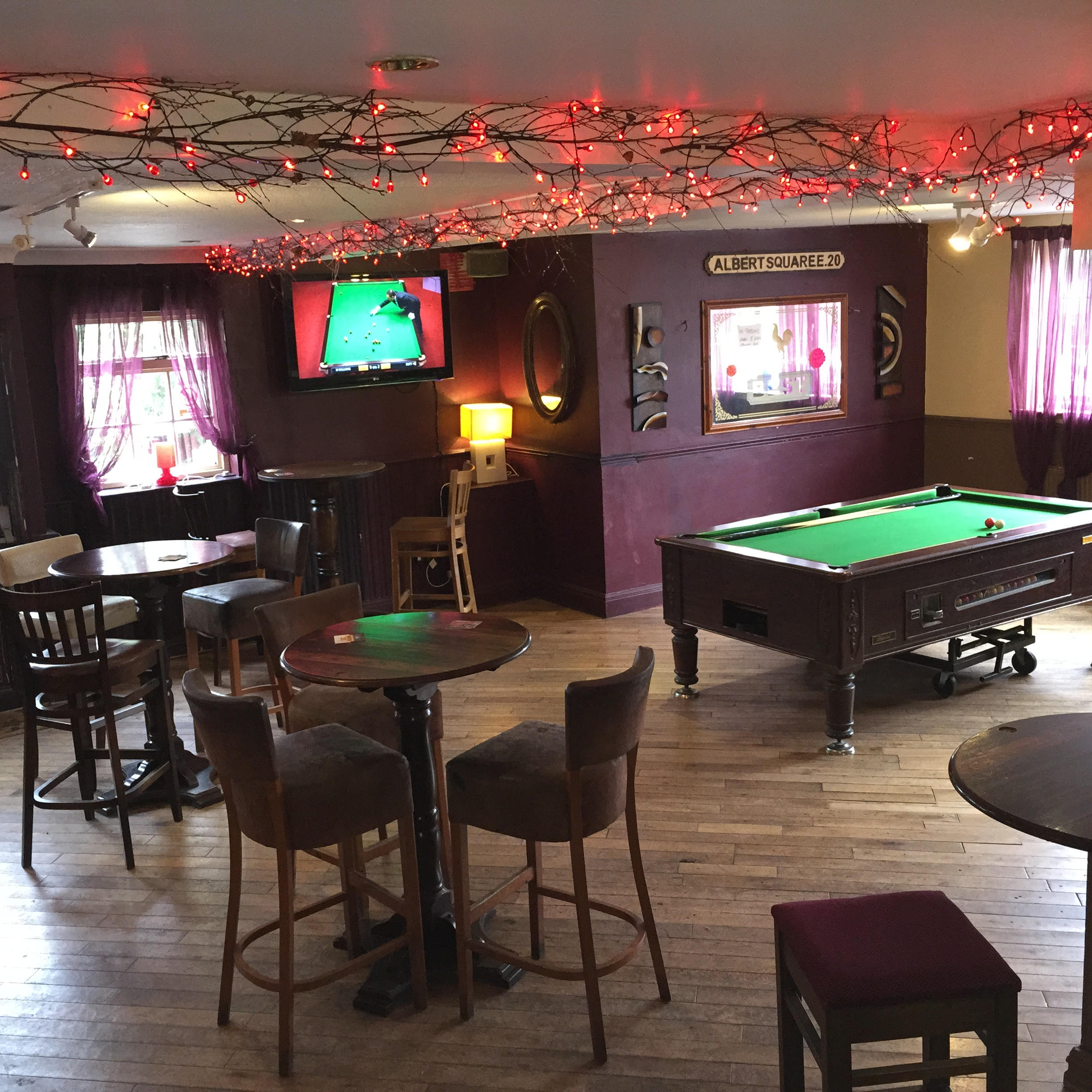 sports and games room