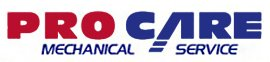pro care mechanical service logo
