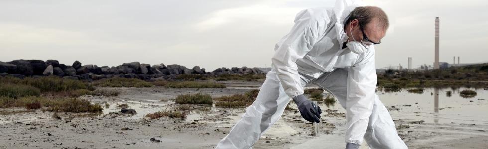Bonifica terreni inquinati, test su terreni contaminati, controllo dell'acqua, Viterbo