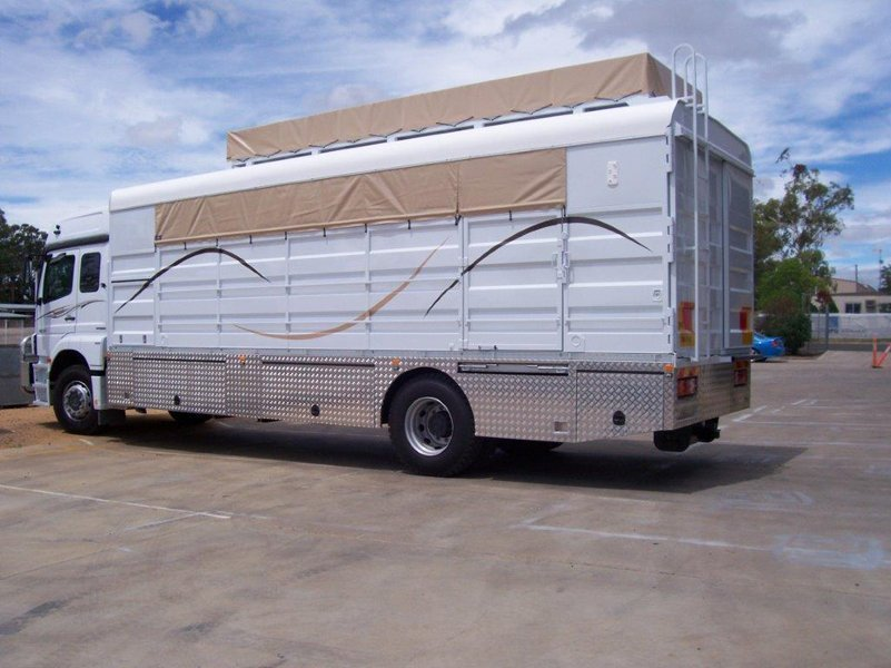 View of a trailer