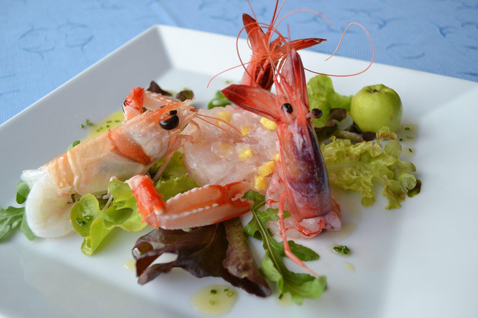 antipasto di mare ristorante el pescador