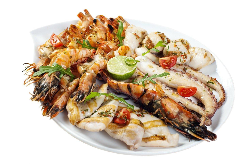 Una grigliata di pesce Ristorante el Pescador  Sestri Levante