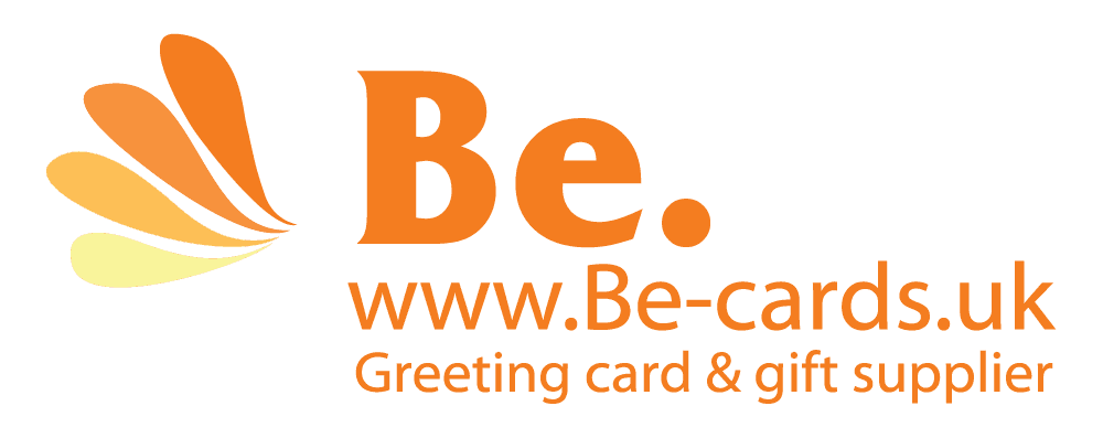 Be-cards logo image. Be cards logo. Lake District cards and postcards.