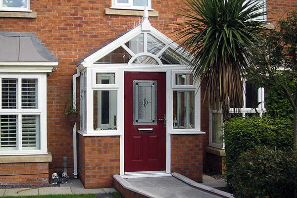 Installation of uPVC porches