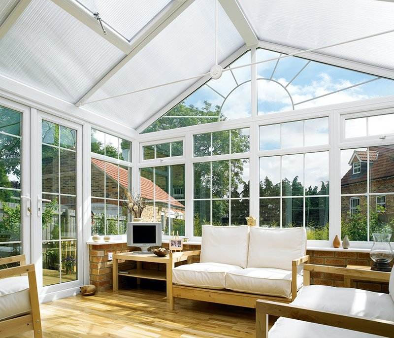 Double glazed gable conservatories