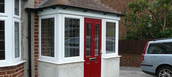 Individually designed porches
