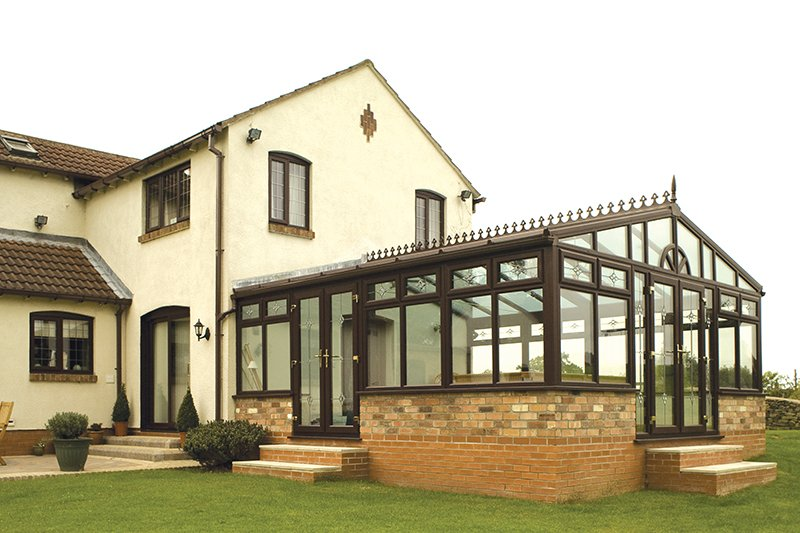Tailor-made gable-end conservatories
