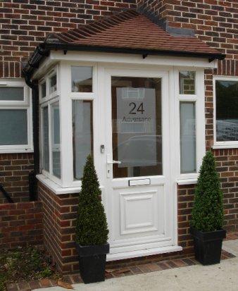 double glazed glass porches