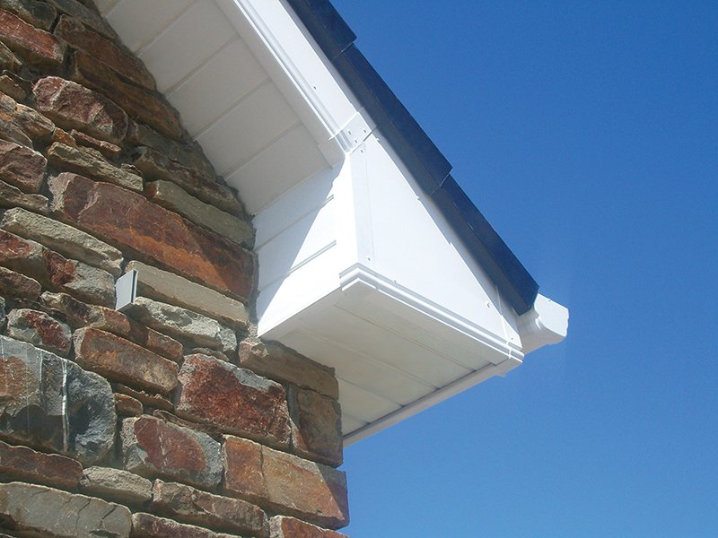 Replacement guttering for homes
