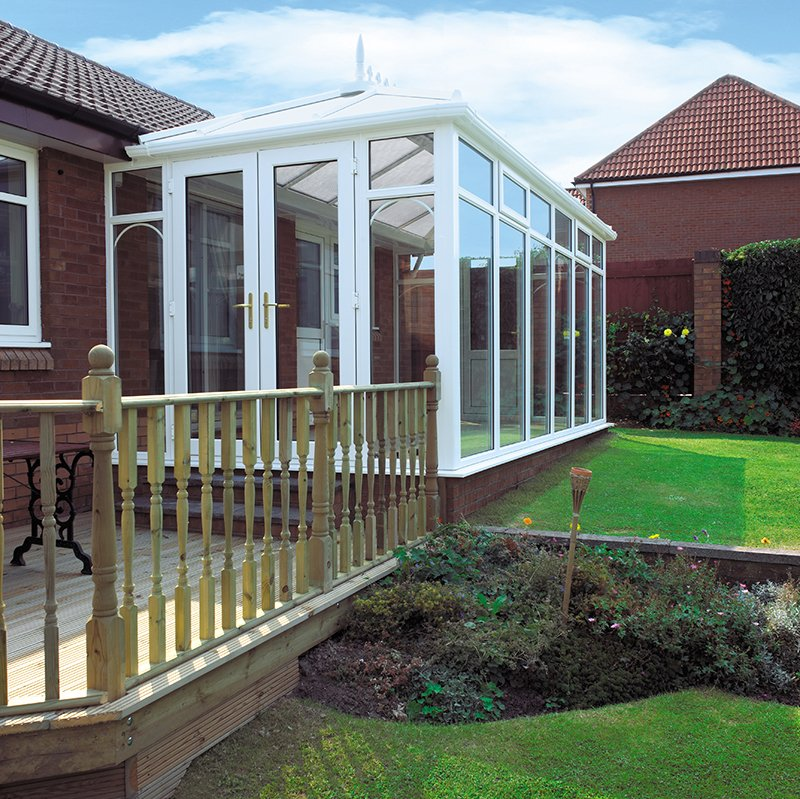 Attractive Edwardian conservatories