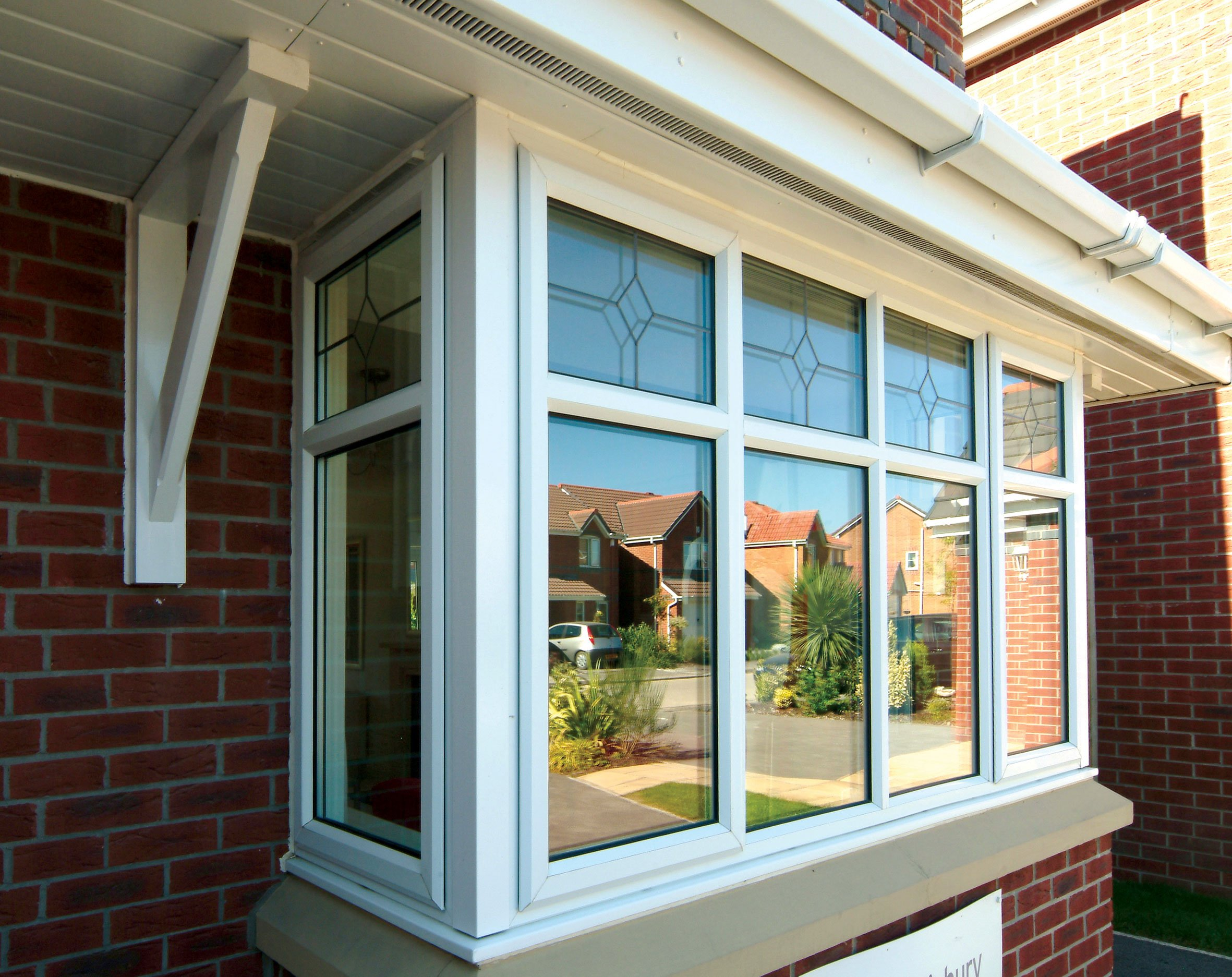 uPVC outer frames windows