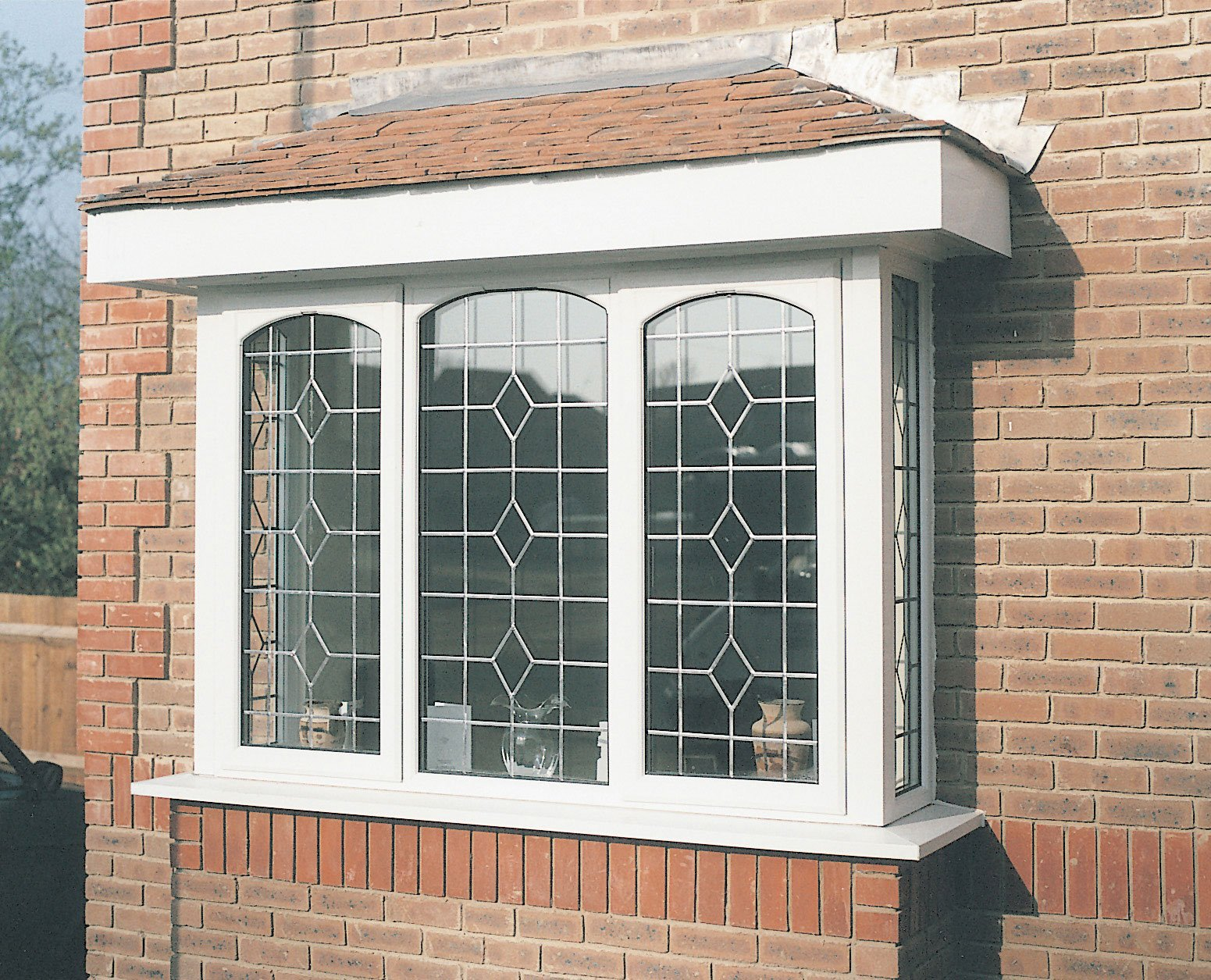 Stained glass for your bay windows