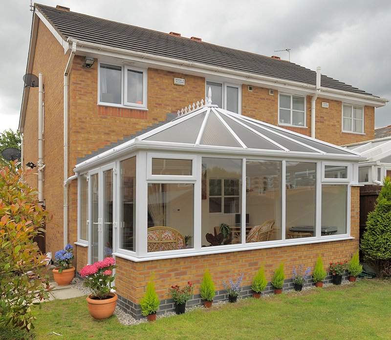new Edwardian conservatory