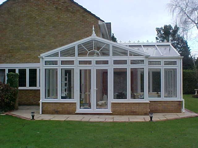 Customised P-shape conservatories
