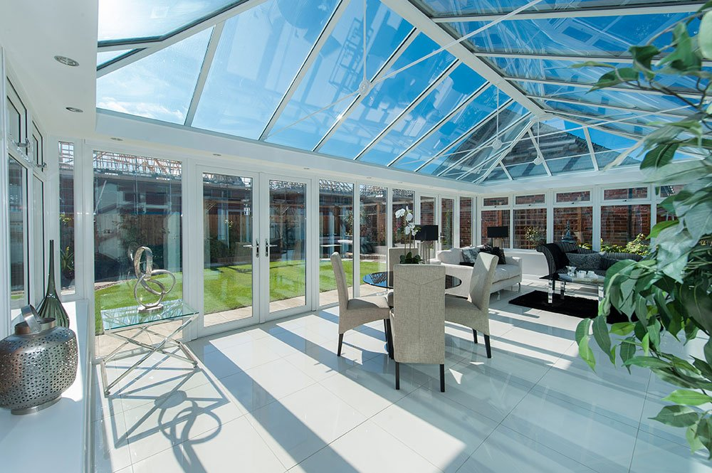 double glazed orangeries